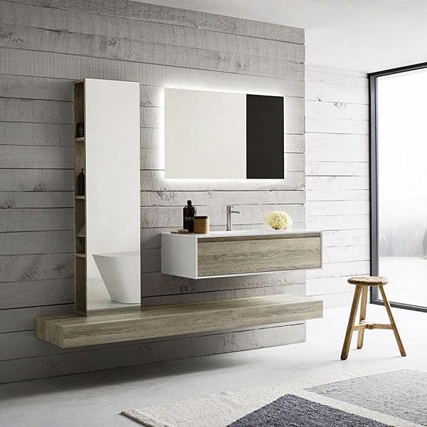 Meuble de salle de bains : Modèle LINFA - Collu Cuisines ...
