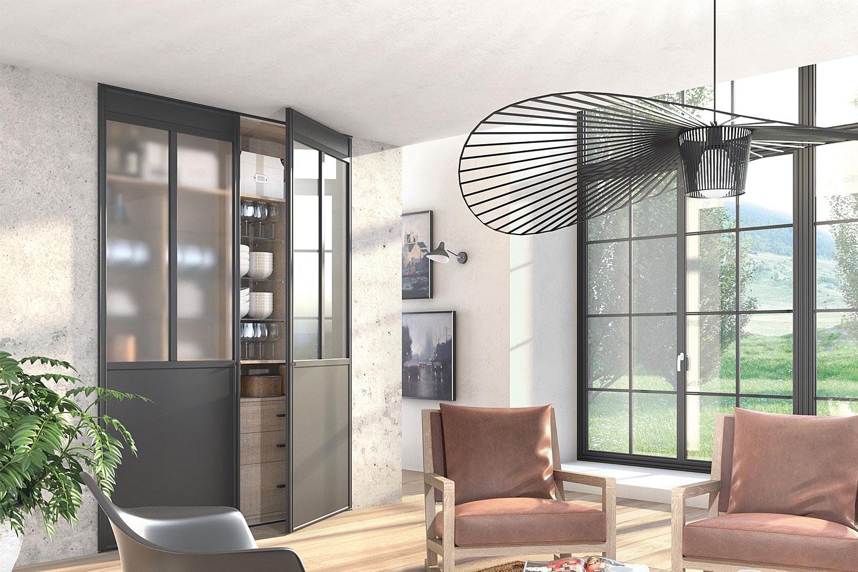 dressing rangement collu cuisines menuiserie. Black Bedroom Furniture Sets. Home Design Ideas